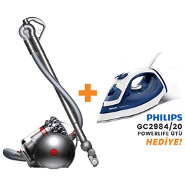 Dyson Cinetic Big Ball Animal Pro 2 700W Elektrikli Süpürge + Philips GC2984/20 PowerLife Plus Ütü Hediye!
